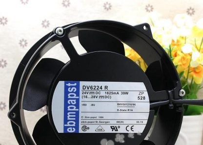 Ebmpapst DV6224R 24V 39W 1.625A 172*51MM the inverter fan ACS800 DV 6224 R