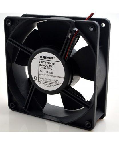 New original PAPST MULTIFAN 4354 120X120X38MM 4354 24V 4W 12038 12CM converter axial flow fan