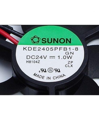 New SUNON 5010 24V 1.0W KDE2405PFB1-8 5CM 50 * 50 * 10mm 2 line drive fan