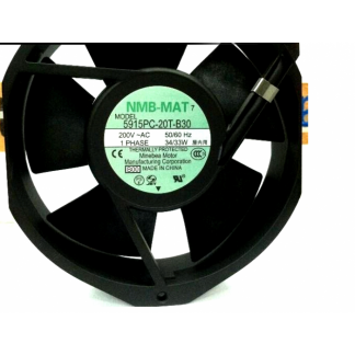 NMB TECHNOLOGIES 5915PC-20T-B30-B00 AC FAN, AXIAL, 150MM x 172MM x 38MM, 200V