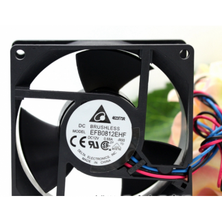 Original Delta EFB0812EHF  12V 0.68A 80*80*32mm fan
