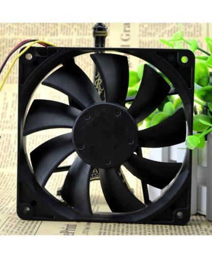 Original NMB 4710KL-04W-B19 12CM 12025 0.17A 12V Fan