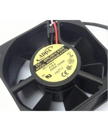 Original ADDA AD0624HB-A70GL 6025 24V 0.15A 6CM fans