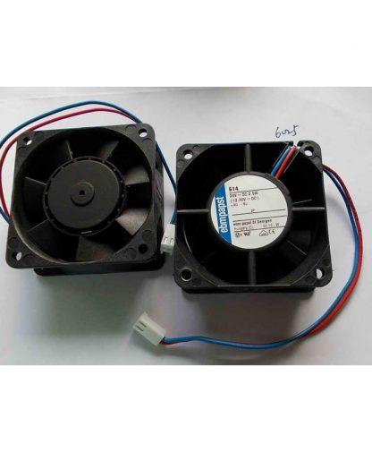 Original Ebmpapst 614 24V DC 2.5W 6CM Cooling fan