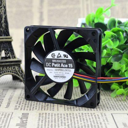 Original FOR SANYO DENKI SAN ACE 8cm 109P0812M701 8015 silence 12V 0.09A cooling fan