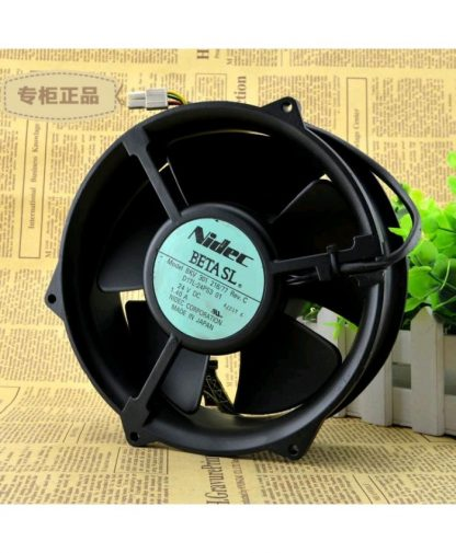 Original NIDEC BKV 301216 24V 1.40A Server Fan