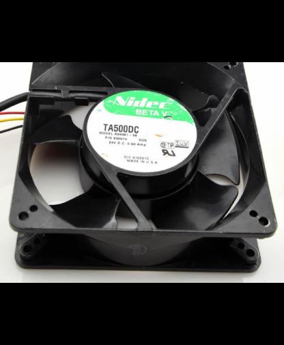 Original Nidec TA500DC A34361-58 24V 0.50A 12CM Cooling Fan