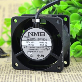 Original NMB 2412PS-12W-B30 6CM 115V 4.5W cooling fan