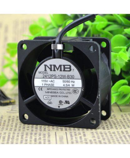Original NMB 2412PS-12W-B30 6CM 115V 4.5W cooling fan