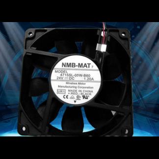 Original NMB-MAT 4715SL-05W-B60 DC24V 1.2A fans