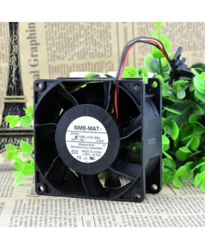 Original NMB-MAT 3115RL-05W-B66 DC24V 0.50A control speed fan
