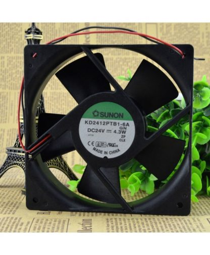 Original SUNON KD2412PTB1-6A GN 12cm 1225 24V Cooling fan