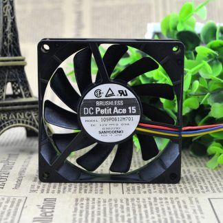 Original FOR SANYO DENKI SAN ACE 8cm 109P0812M701 8015 silence 12V 0.09A cooling fan