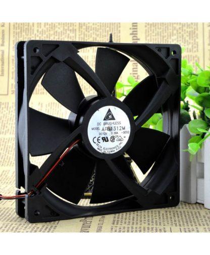 Original DELTA AFB1312M 13525 12V 0.38A 2P fans