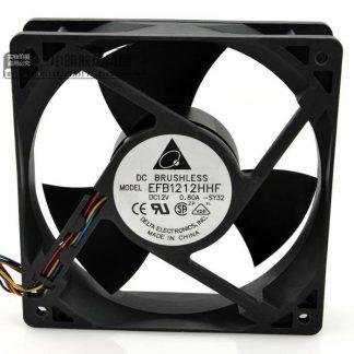 Original DELTA EFB1212HHF 12V 0.80A 12CM 12038 fans