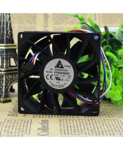 Original DELTA FFB0848HH 8025 48V 0.10A 8CM fans
