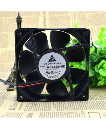 Original DELTA WFB1224HE 12CM 12038 24V 0.37A fans