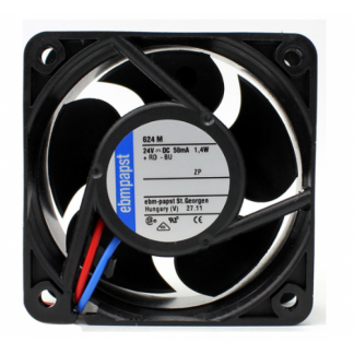 Original Ebmpapst 624M 24V 1.4W 6025 6CM Cooling fan