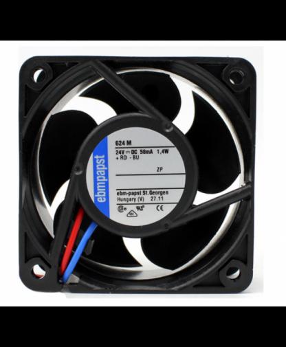 Original Ebmpapst 624M 24V 1.4W 6025 6CM Cooling fan