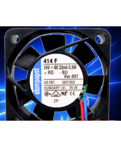 Original Ebmpapst TYP 414F 24V 0.8W 4CM 4010 cooling fan