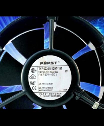 Original Ebmpapst TYP 6224N/17HT 17cm 24V 24W fan
