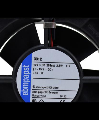 Original Ebmpapst 3312 2.4w 9232 dc12v dc fan