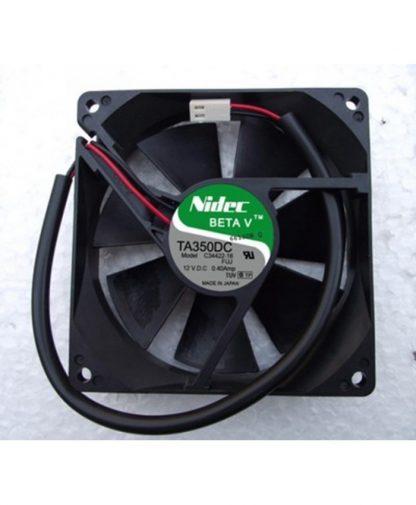 Original Nidec C34422-16 12V 0.4A 2wires Cooling Fan