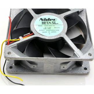 Original NIDEC D12E-48PS1 12V 0.60A MP 12038 cooling fan