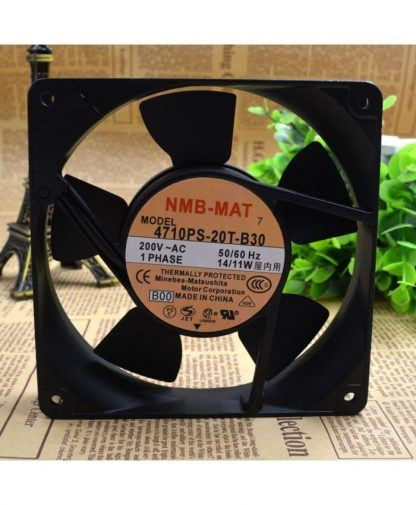 Original NMB 4710PS-20T-B30 120*120*25MM 200V 14/11W fan