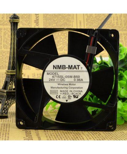 Original NMB 4715SL-05W-B50 24V 0.96A 12CM control speed fan