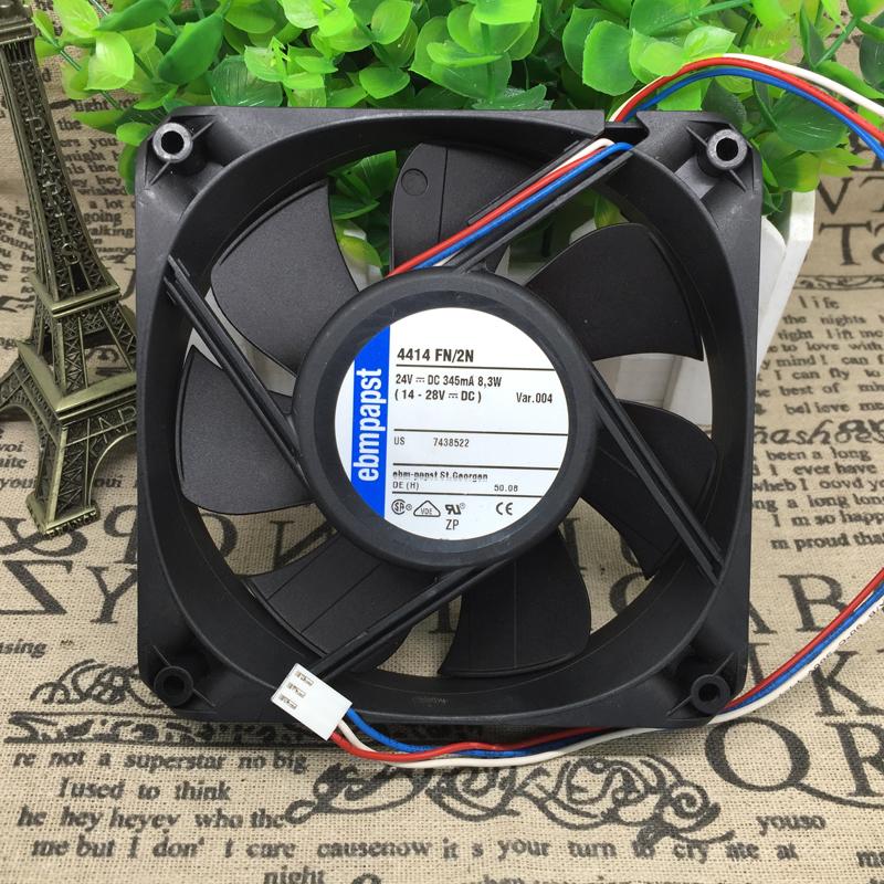 Original ebmpapst 4414FN/2HP 24v 500mA 12W fan
