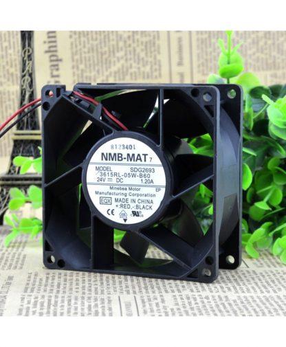 Original NMB 3615RL-05W-B60 9238 24V 1.2A cooling fan