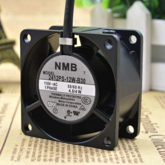 Original NMB 6CM 6028 115V 2412PS-12W-B30 server fan