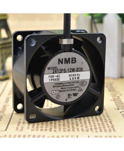 Original NMB 6CM 6028 115V 2412PS-12W-B30 server fan