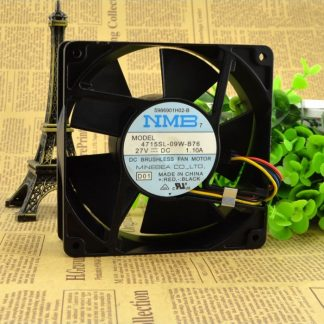Original NMB 4715SL-09W-B76 27V 1.10A 12038 cooling fan
