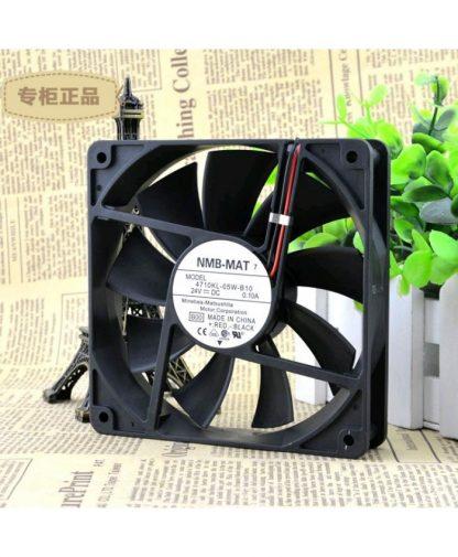 Original NMB-MAT 4710KL-05W-B10 12025 12CM 24V 0.10A Fan