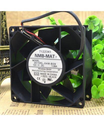 Original NMB-MAT 3615RL-04W-B39 12V 1.06A 92*92*38MM 3 lines fan