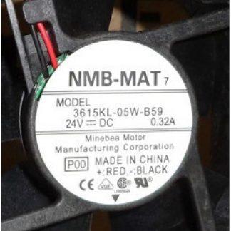 Original NMB-MAT 3615RL-05W-B59 24V 0.32A Fan