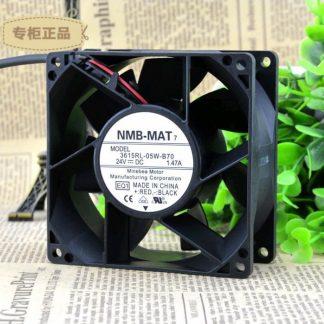 Original NMB-MAT 3615RL-05W-B70 24VDC 92X38.4MM 7200RPM fan