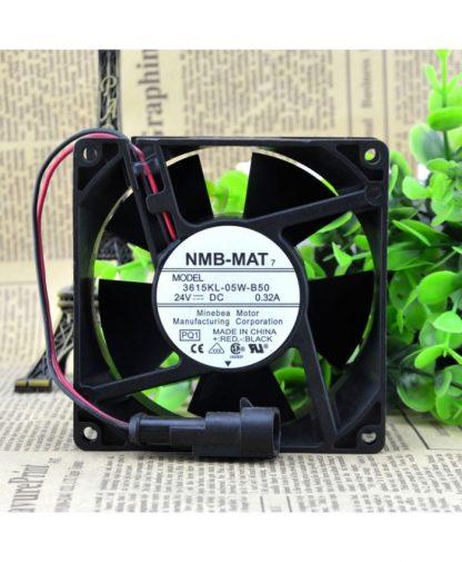Original NMB-MAT 3615KL-05W-B50 ACS800 DC 24V 0.32A fan