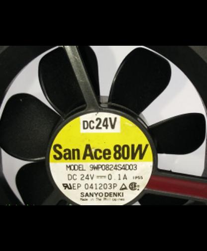 Original Sanyo 9WP0824S4D03 8CM DC24V 0.1A cooling fans