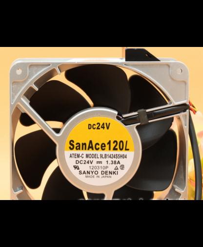 Original SANYO 9LB1424S5H04 24V 1.38A 14051 14CM cooling fan