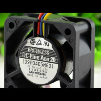 Original Sanyo 109P0405M601 5V 0.12A 3 lines cooling fans
