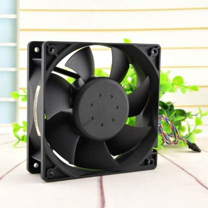 Delta AFC1212DE 12038 12cm 12V 1.6A pwm thermostat fan winds of I Minerals