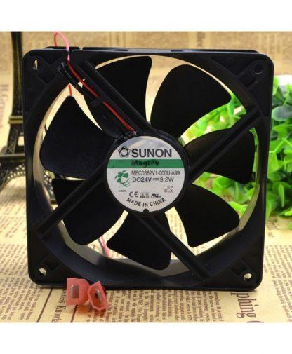 Original SUNON FANS MEC0382V1-000U-A99 12038 24v 9.2w