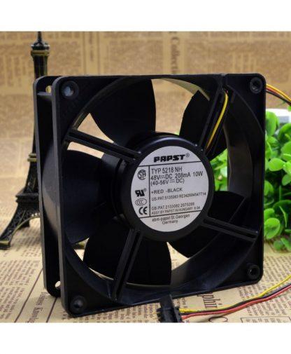 Original EBMPAPST TYP 5218NH 48V 10W cooling fan