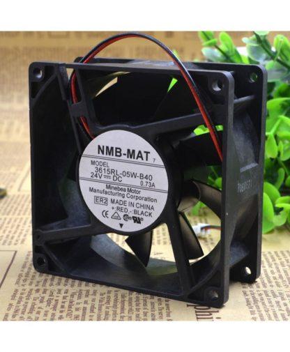 Original NMB-MAT 3615RL-05W-B40 9038 9CM 24V 0.73A control speed fan