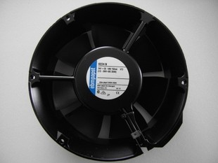 EBMPAPST  TYP 6224N original Germany 24 VDC 18 w 750 ma 172 * 51 mm aluminum frame fan