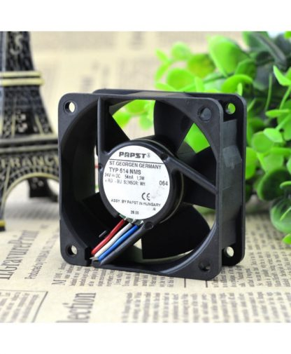 PAPST TYP614 NMS 24V1.3W 6CM6025 cooling fan violence