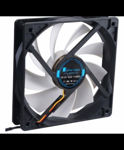 Qiao Sibo (JONSBO) 12020 thin chassis fan CPU fan 12CM silent fan